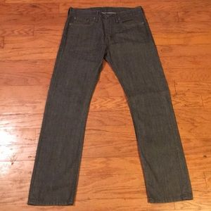 PRE-OWNED Levi's 513 SLIM STRAIGHT FIT JEANS